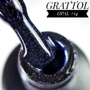 Гель-лак GRATTOL Opal 14, 9 мл