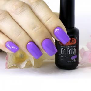 Гель-лак PNB Fiesta 227, 8 ml фиолетовый, эмаль