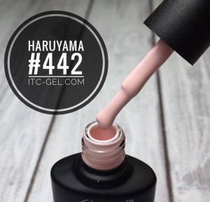Гель-лак Haruyama Классика №442, нежно-розовый, 8 мл