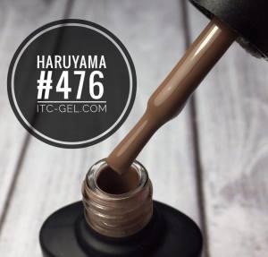 Гель-лак Haruyama Классика №476, бежево-коричневый, 8 мл