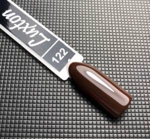 Гель лак LUXTON 10 мл №122 вишнево-шоколадный