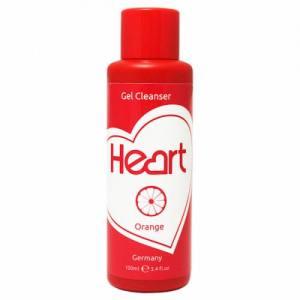 "Жидкость для снятия липкого слоя Gel Cleancer ""Orange"" 100 ml Heart Germany"