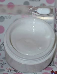 Белый гель суфле Extreme white pudding gel
