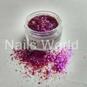 Хлопья Flash Nails World №15