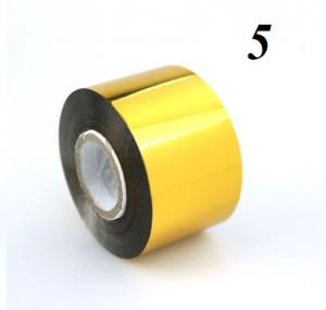 Фольга для литья 1м золото №5