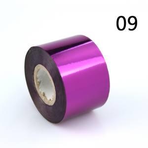Фольга для литья 1м розовая №9