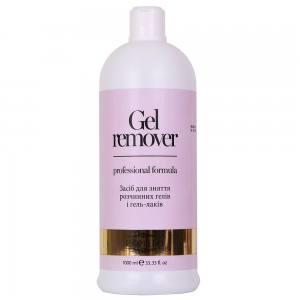 Komilfo Gel Remover — средство для снятия soak off гелей и гель-лаков, 1000 мл