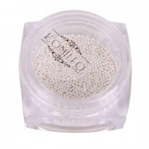 Komilfo бульонки (металлические) серебро, 0,8 мм, 6 грамм