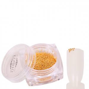 Komilfo бульонки (металлические) золото, 0,8 мм, 6 грамм