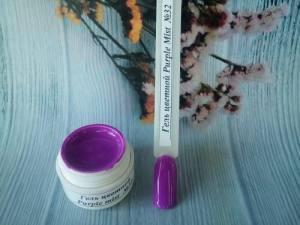 Гель цветной №32 5г Purple Mist