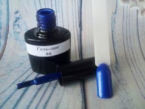 Гель-лак на розлив 5г №96 насыщенный синий с микроблеском