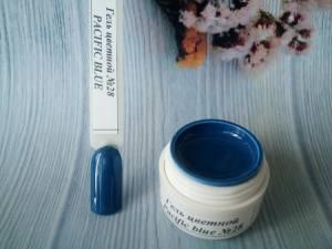 Гель цветной №28 5г pacific blue