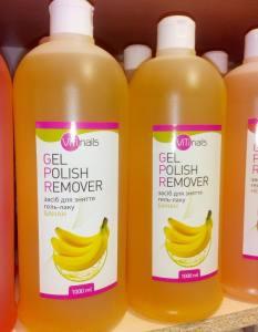 Жидкость для снятия гель-лака Viti с экстрактом банана, 1000 мл