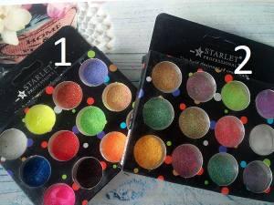 Набор меланжа для ногтей Starlet 12цветов