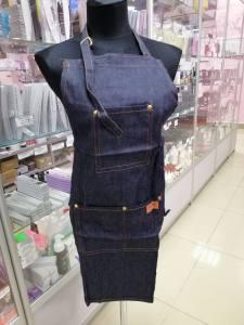 Фартук для мастера джинсовый FTK-01