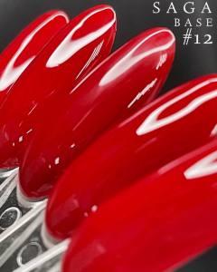 Красная база Saga Color Base  №12, 8мл