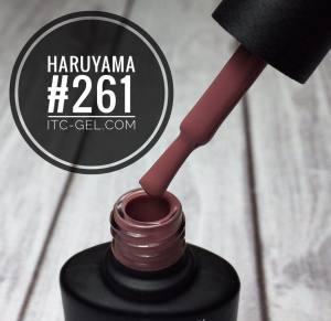 Гель-лак Haruyama Классика №261, кремово-розовый, 8 мл