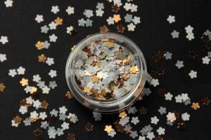 Камифубики (цветочки) для дизайна ногтей микс KF-10