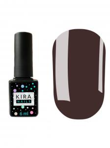 Гель-лак Kira Nails №067 (темный фиолетовый, эмаль), 6 мл