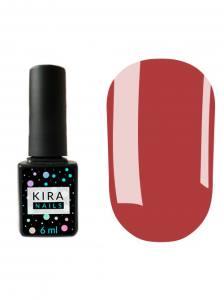 Гель-лак Kira Nails №069 (винно-пурпурный, эмаль), 6 мл