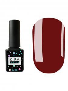 Гель-лак Kira Nails №070 (коричнево-розовый, эмаль), 6 мл