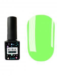 Гель-лак Kira Nails №077 (салатовый, эмаль), 6 мл