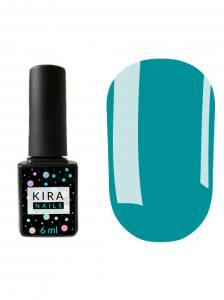 Гель-лак Kira Nails №082 (голубой, эмаль), 6 мл