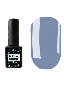 Гель-лак Kira Nails №084 (васильковый, эмаль), 6 мл