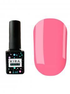 Гель-лак Kira Nails №101 (яркий розовый, эмаль), 6 мл