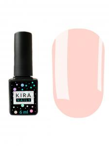 Гель-лак Kira Nails №105 (нежно-розовый, эмаль), 6 мл