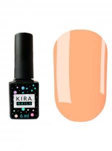 Гель-лак Kira Nails №108 (персиковый, эмаль), 6 мл