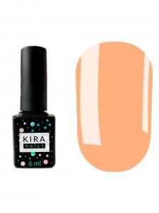 Гель-лак Kira Nails №112 (розово-бежевый, эмаль), 6 мл