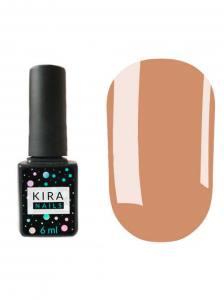 Гель-лак Kira Nails №113 (коричнево-розовый, эмаль), 6 мл