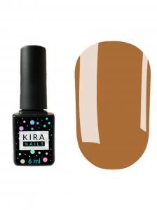 Гель-лак Kira Nails №117 (коричневый, эмаль), 6 мл