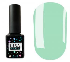 Гель-лак Kira Nails №130 (нежно-голубой, эмаль), 6 мл