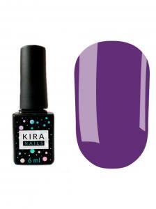 Гель-лак Kira Nails №135 (фиолетовый, эмаль), 6 мл