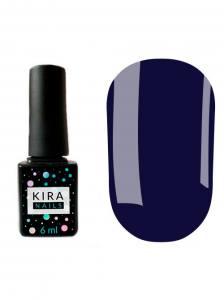Гель-лак Kira Nails №136 (ультрамарин, эмаль), 6 мл