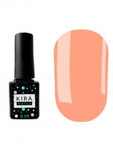 Гель-лак Kira Nails №142 (персиково-розовый, эмаль), 6 мл