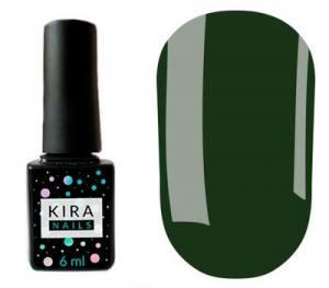 Гель-лак Kira Nails №147 (темный мох, эмаль), 6 мл