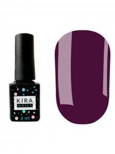 Гель-лак Kira Nails №151 (баклажанный, эмаль), 6 мл