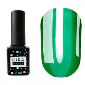 Гель-лак Kira Nails Vitrage №V05 (зеленый, витражный), 6 мл
