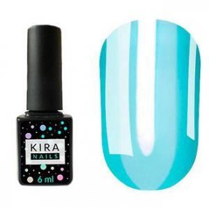 Гель-лак Kira Nails Vitrage №V08 (голубой, витражный), 6 мл