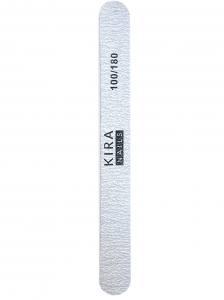 Пилочка Kira Nails эконом, прямая стандарт 100/180