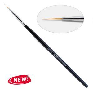 10 D. Кисть для дизайна круглая 001-s PNB, нейлон 10 мм