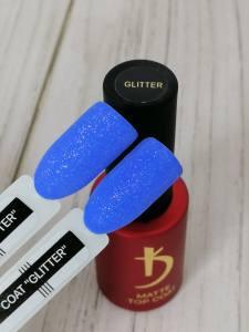 Топ матовый с глиттером Kodi Glitter 7мл