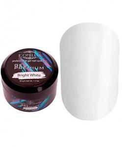 Белый гель для наращивания Komilfo Gel Premium Bright White 50 г