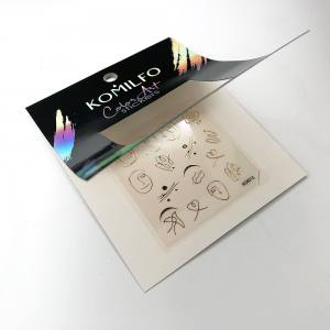 Наклейка Komilfo Color Art Sticker №KCA015