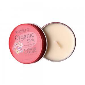Массажная свеча Komilfo Massage Candle  Flower Garden, 20 g