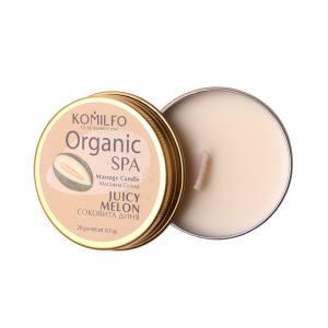 Массажная свеча Komilfo Massage Candle  Juicy Melon, 20 g