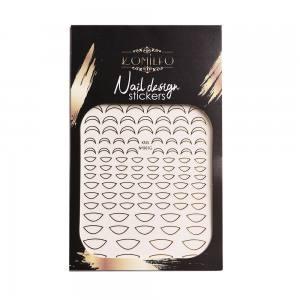 Наклейка Komilfo Nail Design Sticker №KNS-001G